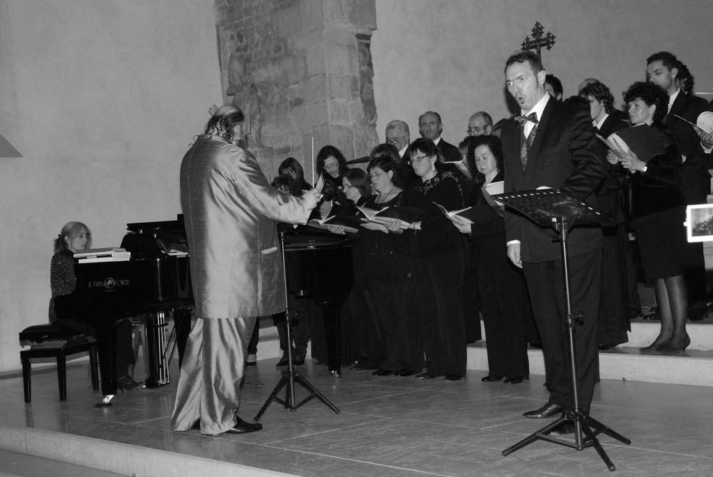 """""""Profezia - finale terzo"""" dal Nabucco - coro ed il basso Gialuca Breda"""