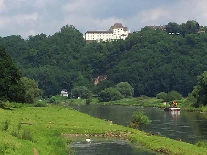 Ist schon toll an der Weser! (Foto Maja Beste)