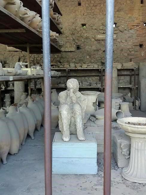 Beeindruckende Details in Pompeji, die beklemmen können ... (Foto Darius Behrouzi)