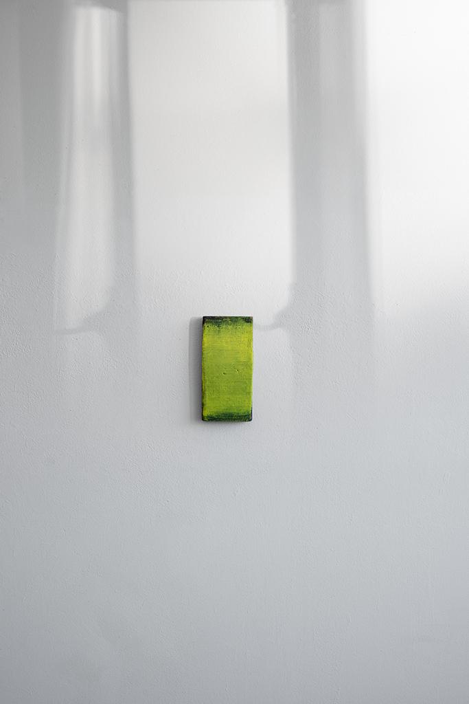 Andreas Keil, Malerei, O.T., 2020, Öl auf  Holz, Köln