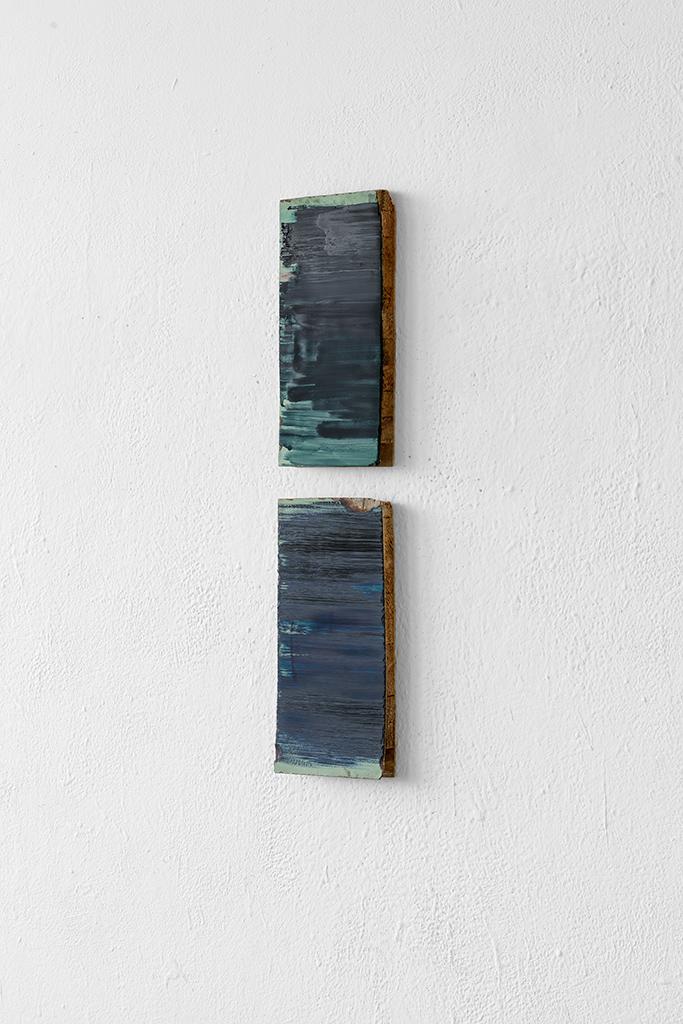 Andreas Keil, Malerei, Twinset Black Power, 2020, Öl auf  Holz, Köln
