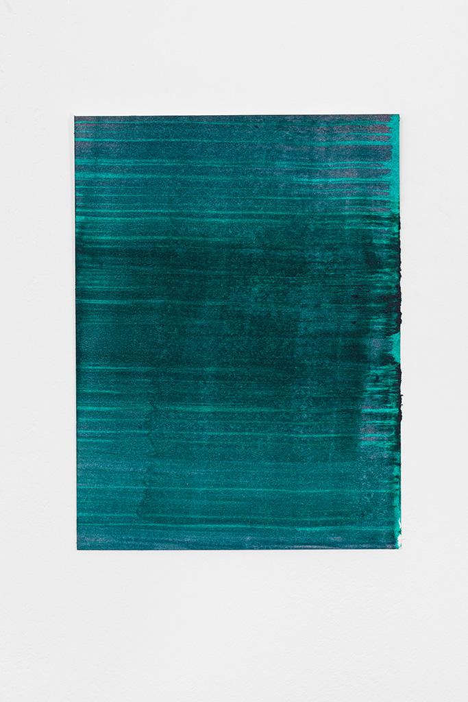 Andreas Keil, Malerei, Ölfarbe auf Papier
