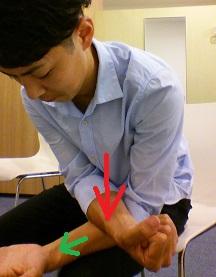 頚椎症の取れない腕の痺れを治すマッサージ