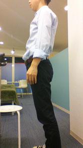 太って腰が痛い奈良県大和高田市の男性