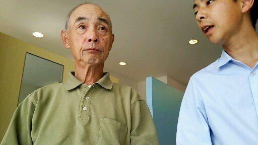 坐骨神経痛に悩む奈良県葛城市の男性