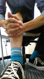 合わない靴で腰椎椎間板ヘルニアが悪化した奈良県御所市の男性