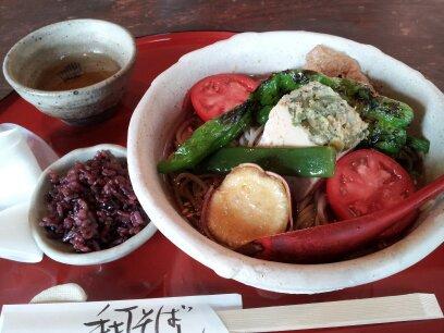 奈良県香芝市のお蕎麦屋さん