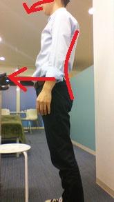 太って腰椎ヘルニアになった奈良県御所市の男性