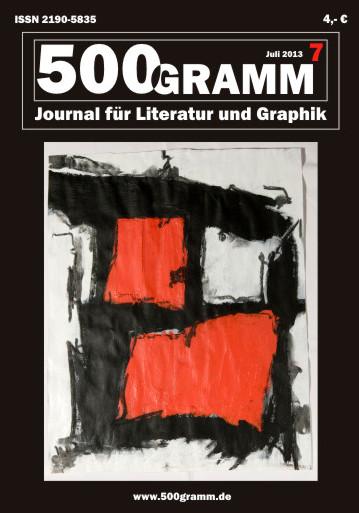 Titelblatt Nummer 7 / Karima Badr - Ausbruch - Acryl auf Papier, 40 x 50 cm, 2010 (Copyright Karima Badr)