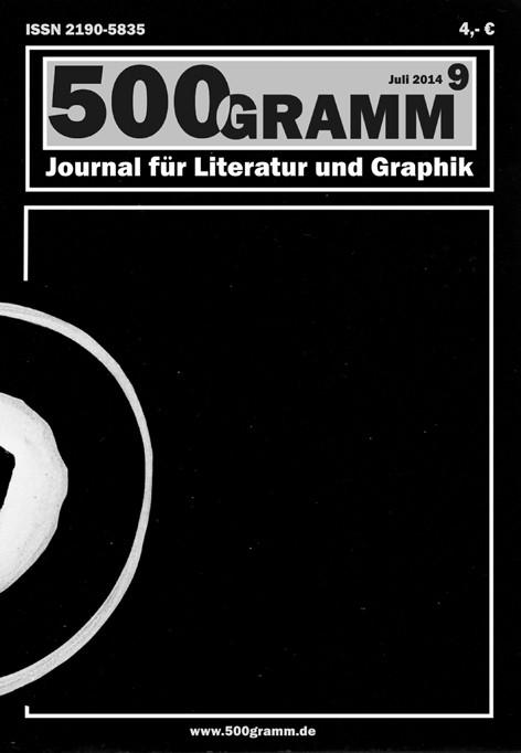 Titelblatt Nr. 9 / peter linden - ohne Titel - dispersion u. wachsstift a. karton