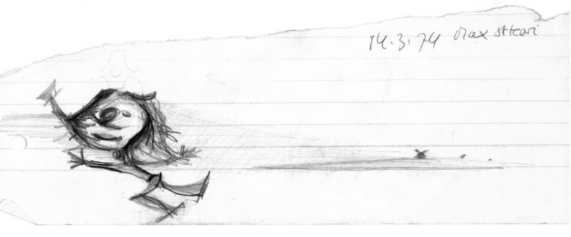 Steffen Holst: ohne Titel - Bleistift auf Papier  (Copyright Steffen Holst)