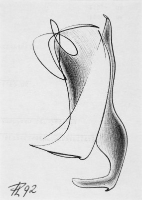peter linden: zeichnung - kugelschreiber   (Copyright peter linden)