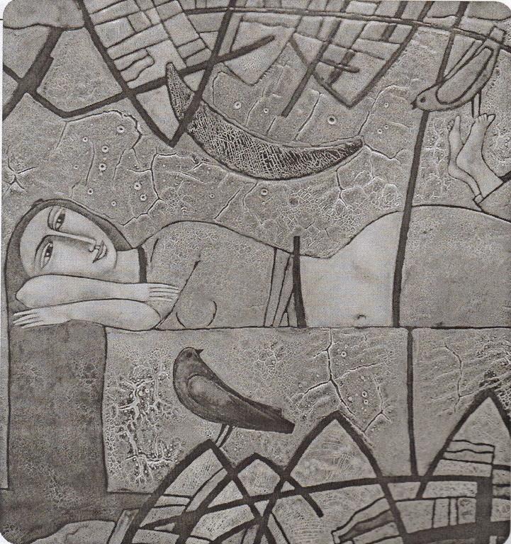 "Ludmila P. Baizajewa: ""Träumende""                                                                                                         (Copyright: Ludmila P. Baizajewa)"
