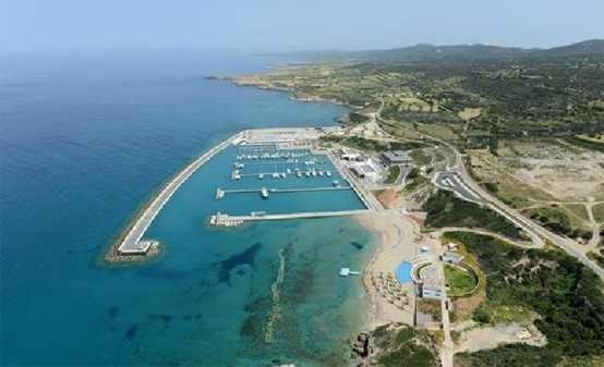 Starthafen auf Zypern