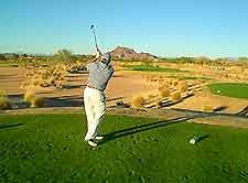 golf auf dem sinai