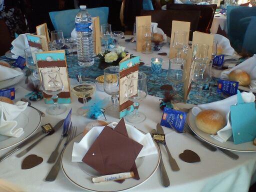 Table thème mer
