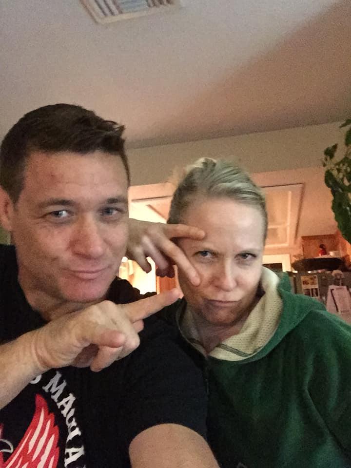 Bryan Genesse mit seiner Frau Brooke Theiss