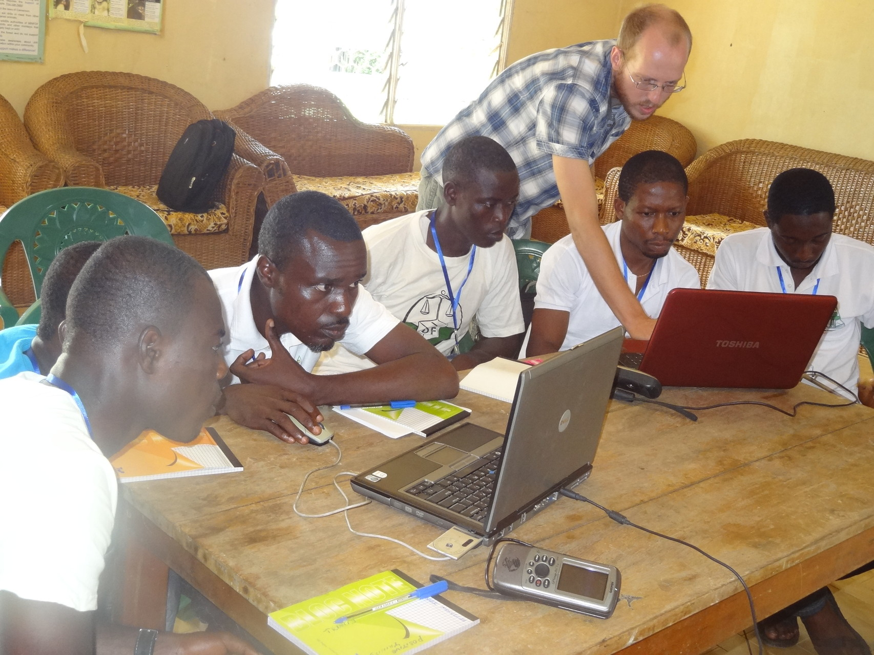 GIS training, June 2014