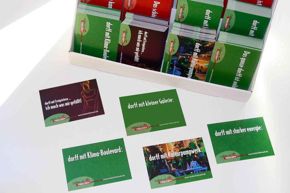 Die Motive der 2. Leben in Findorff Postkarten-Edition