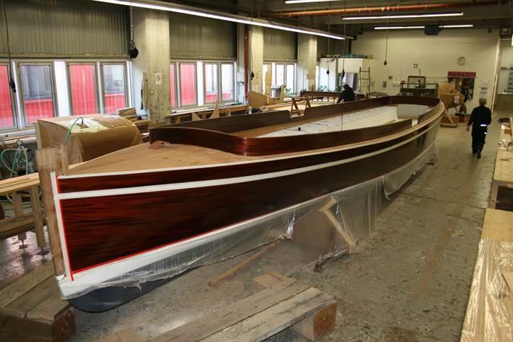 Die neue Marie II auf der Schiffswerft Winkler  2012