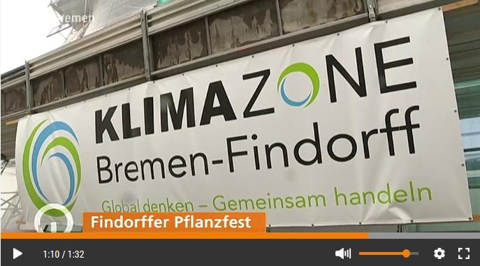 Das Findorffer Pflanzfest bei buten un binnen - zum Video einfach anklicken (ab 1:05)