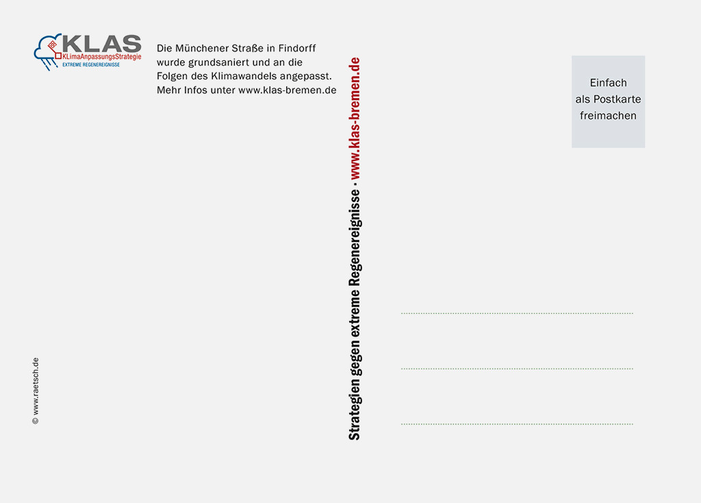 Die 2. Postkarten-Edition · Sponsor: KLAS. Vielen Dank!