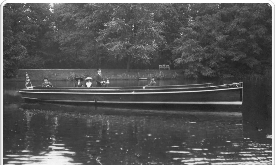 Motorboot Marie im Sommer 1912
