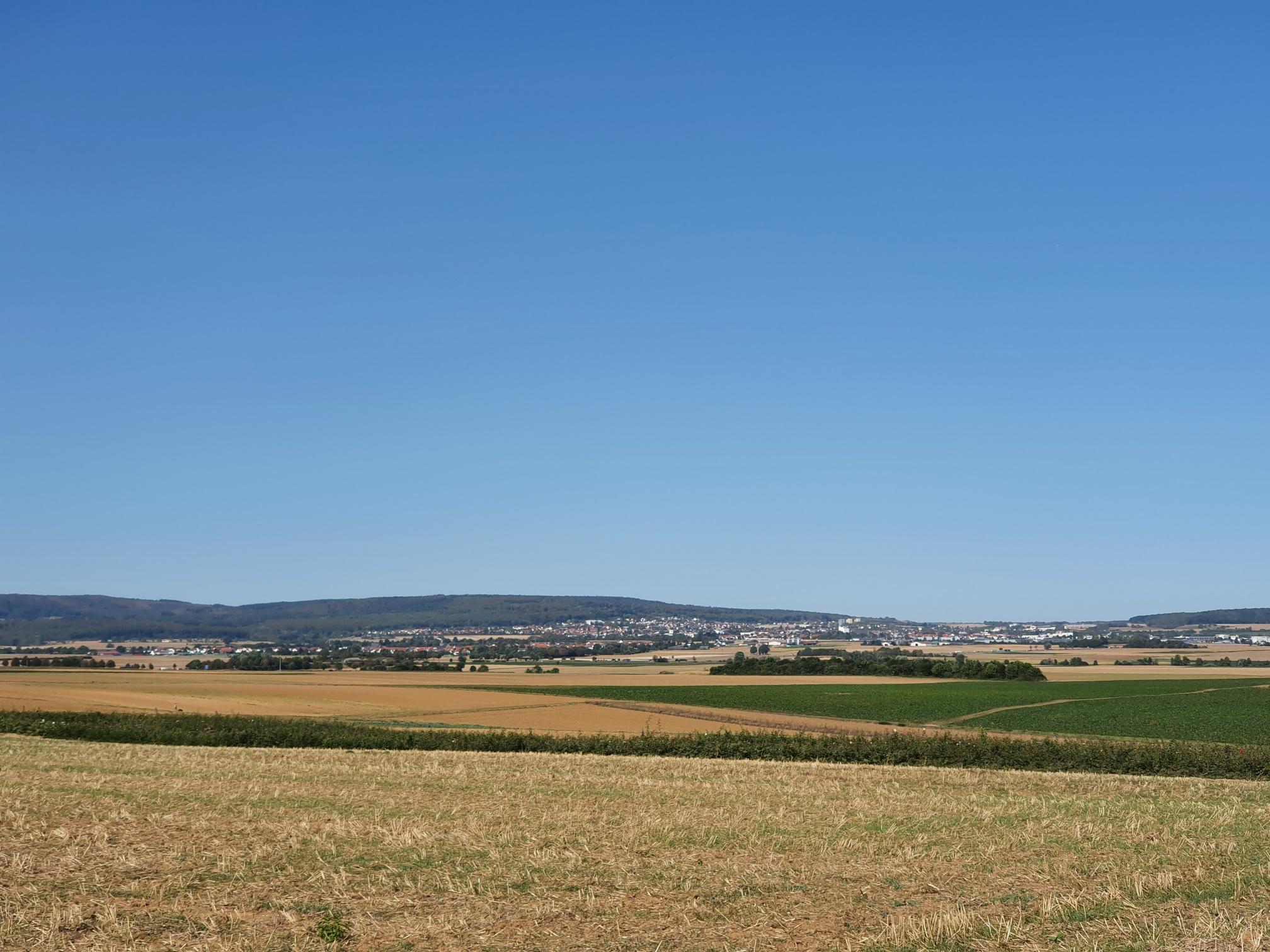 Stfeinfurth Blick Nieder Weidel/Butzbach