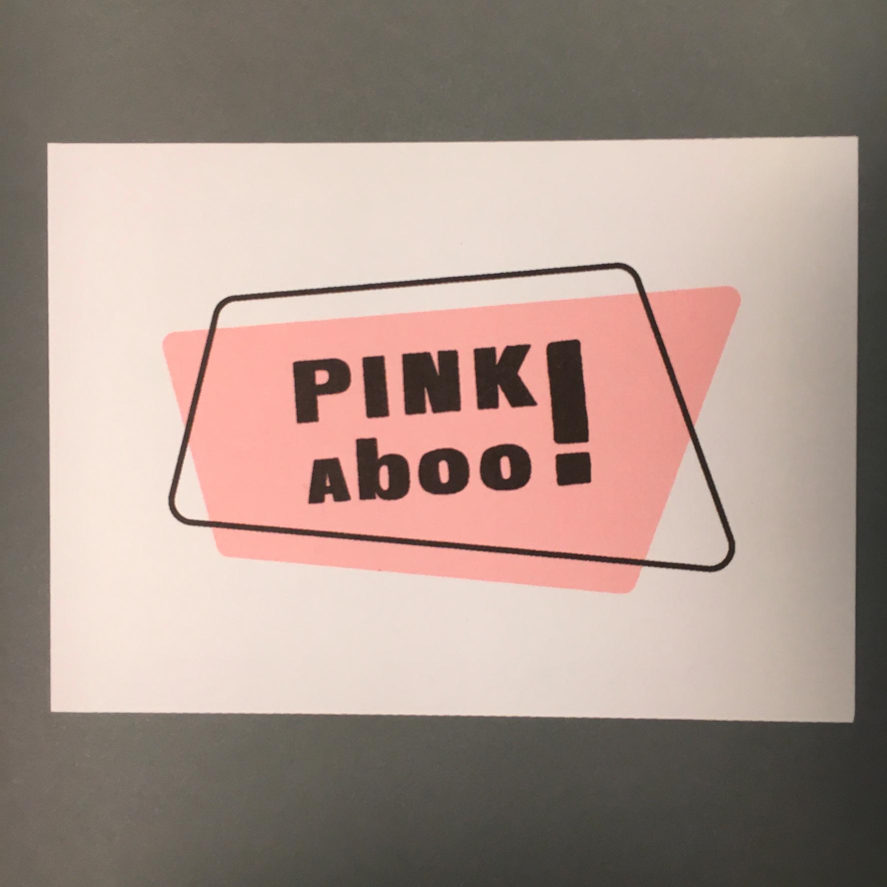 """""""Color Moods PINKaboo!"""" Tirage numérique sur papier aquarelle / 2,50€ pièce hors fdp / 4 derniers exemplaires!"""