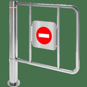 K-15-A portillon bidirectionnel à verrouillage électromécanique pour extérieur