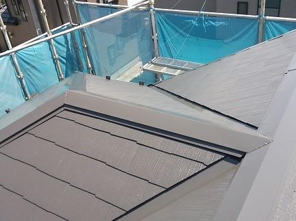 薄型スレート屋根塗装