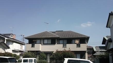 船橋市の戸建住宅、外壁塗装・屋根塗装工事前の写真