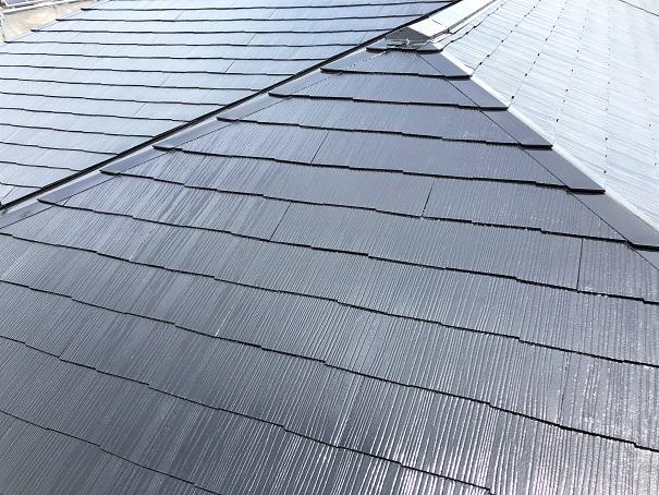 コロニアル屋根塗装 after