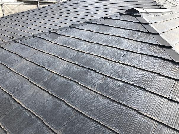 コロニアル屋根塗装 before