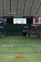 東京ドームでの出演の様子