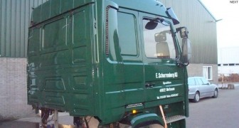 Scania Cabin to Uruguay