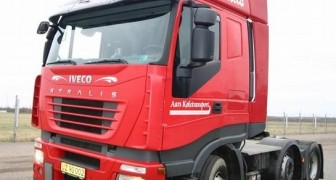 Scania Truck Head to Uruguay