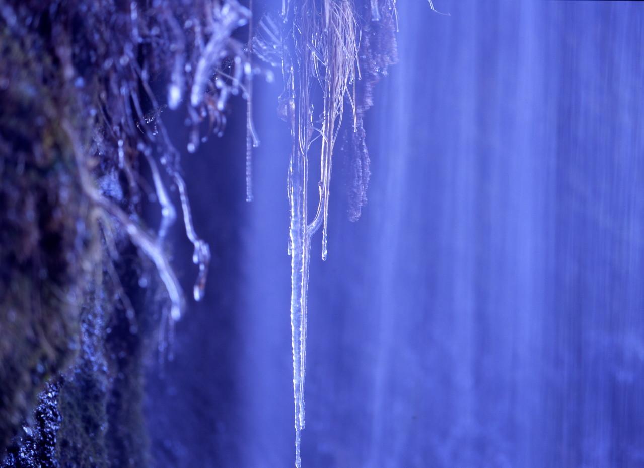 北杜市・吐竜の滝