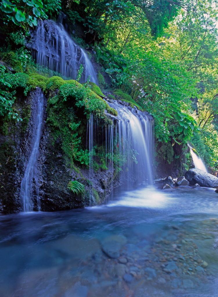 北杜市大泉町・吐竜の滝
