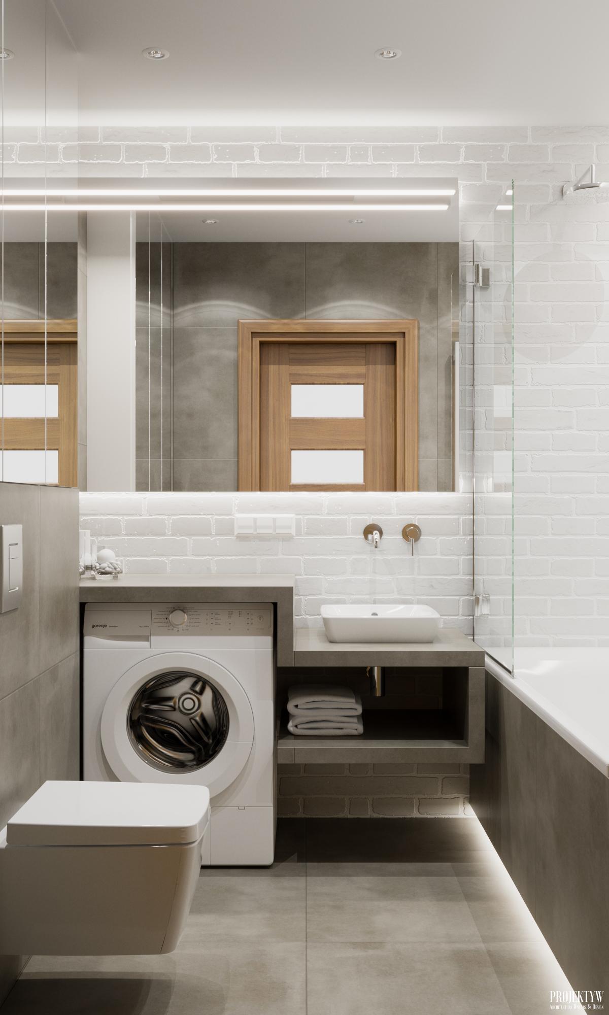 Projekt taniej łazienki