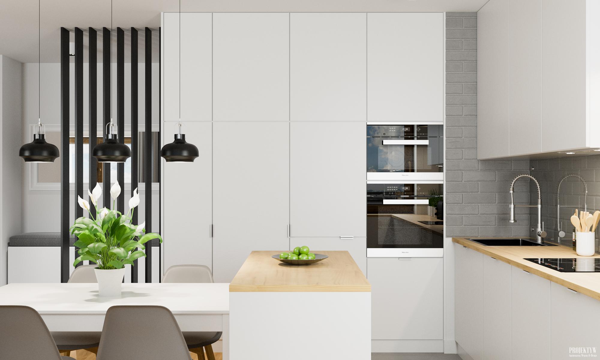 Projekt zabudowy kuchennej