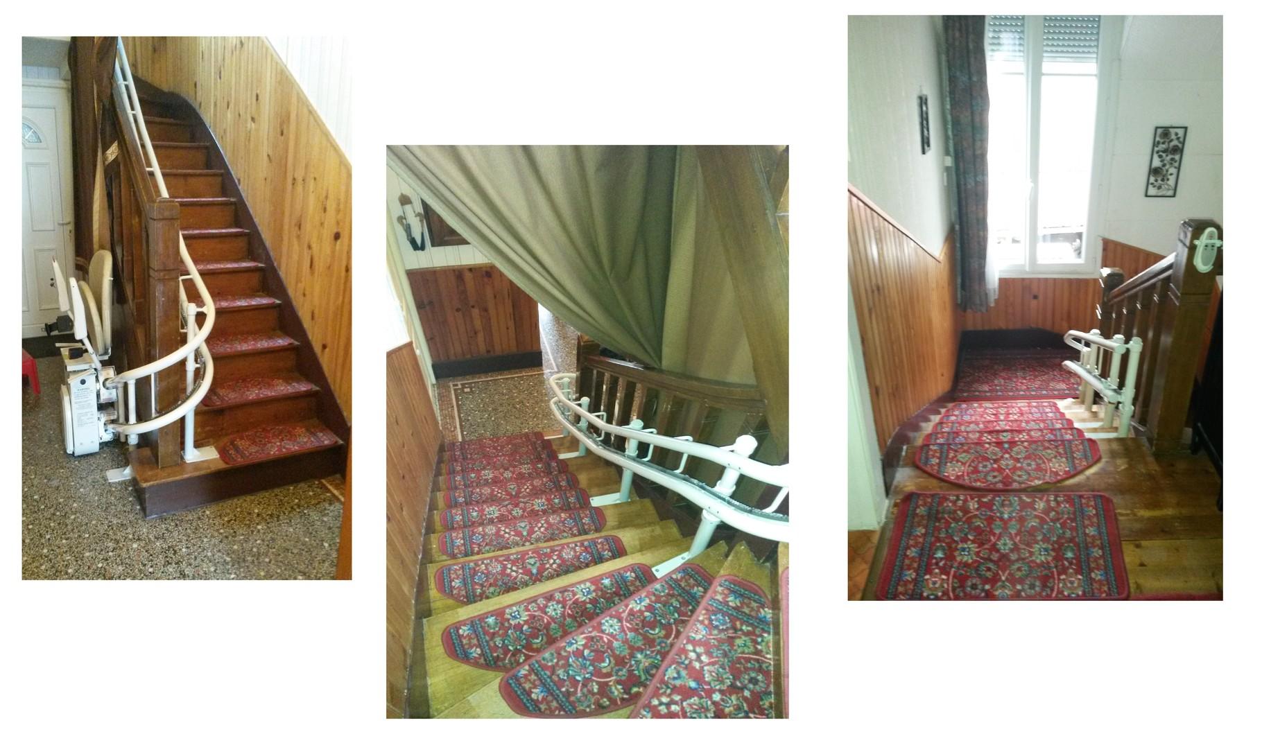 monte escalier tournant sarl auvergne monte escalier. Black Bedroom Furniture Sets. Home Design Ideas