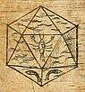 Bild: Platonischer Körper - IKOSAEDER