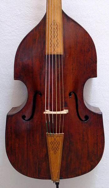 BACH: Violone Or Double Bass???