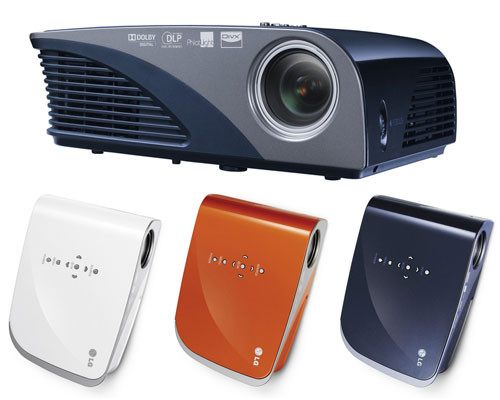 LG projector awarded by European Consumers Choice