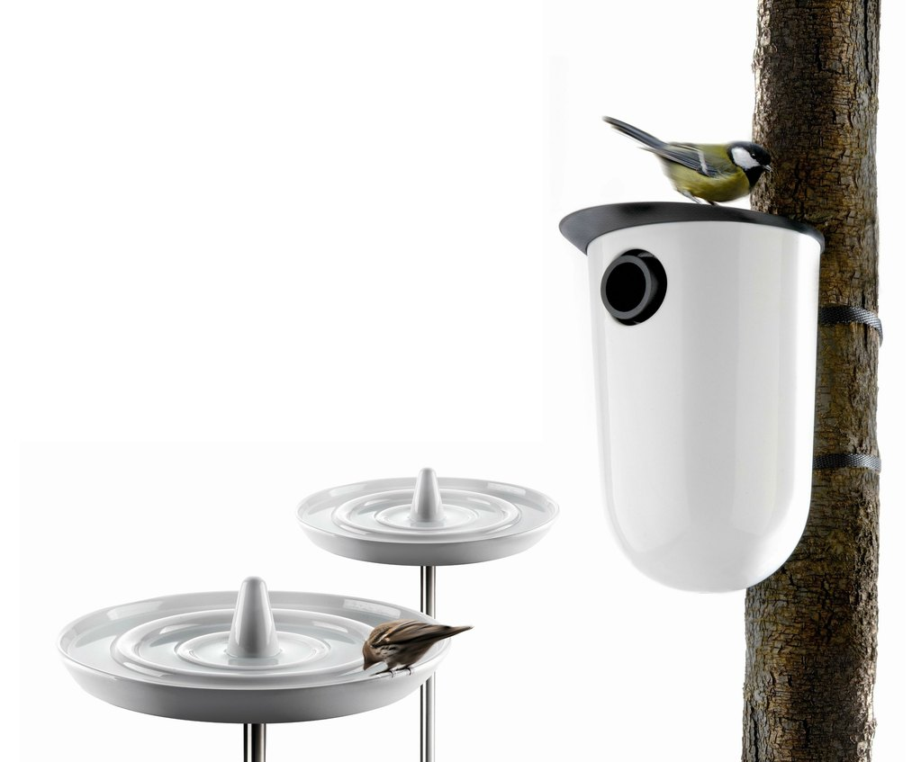eva solo bird bath and nesting box design award