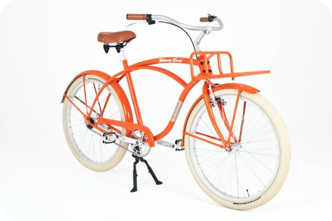 Johnny Loco's beach cruiser bike awarded by European Consumers Choice