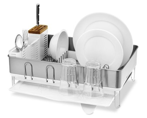 Simplehuman steel frame dishrack awarded by European Consumers Choice