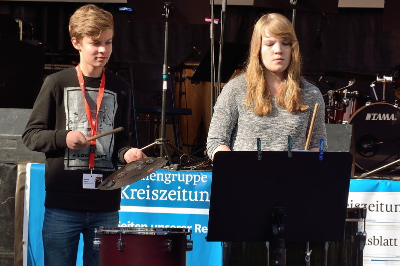 Drummer-Workshop; Bild: S. Bothmer