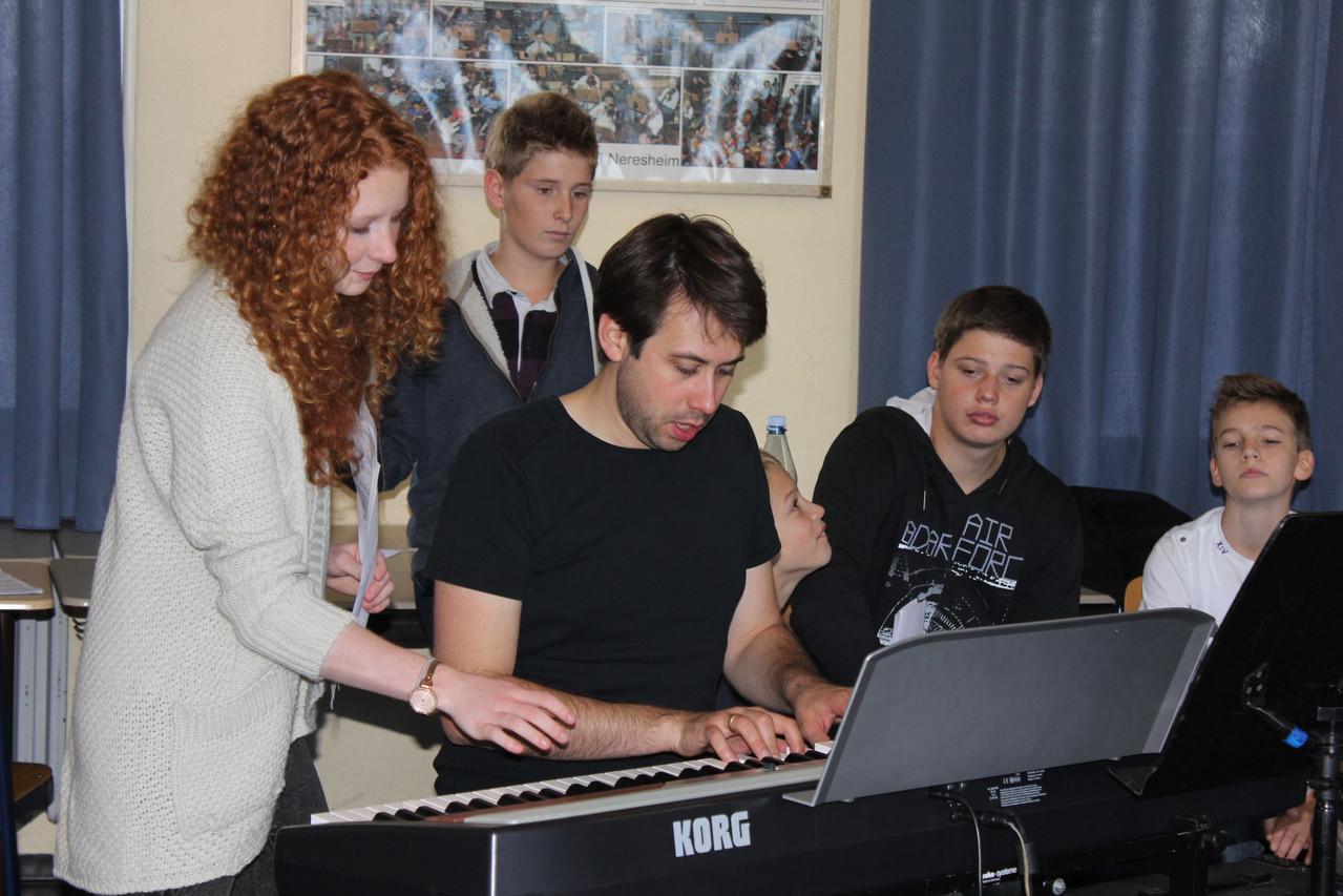 Workshop-Teilnehmer bei der Arbeit...